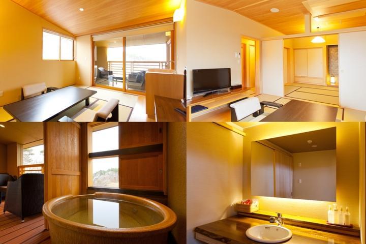 本館 太郎の庵 露天風呂付きモダン和室(8畳+6畳)