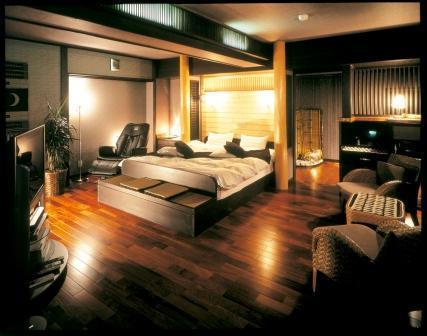 新渚感の露天風呂付客室【燦sun】