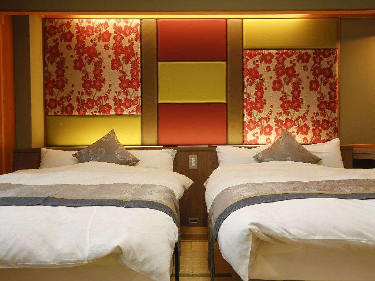 ベッド付き和室10畳