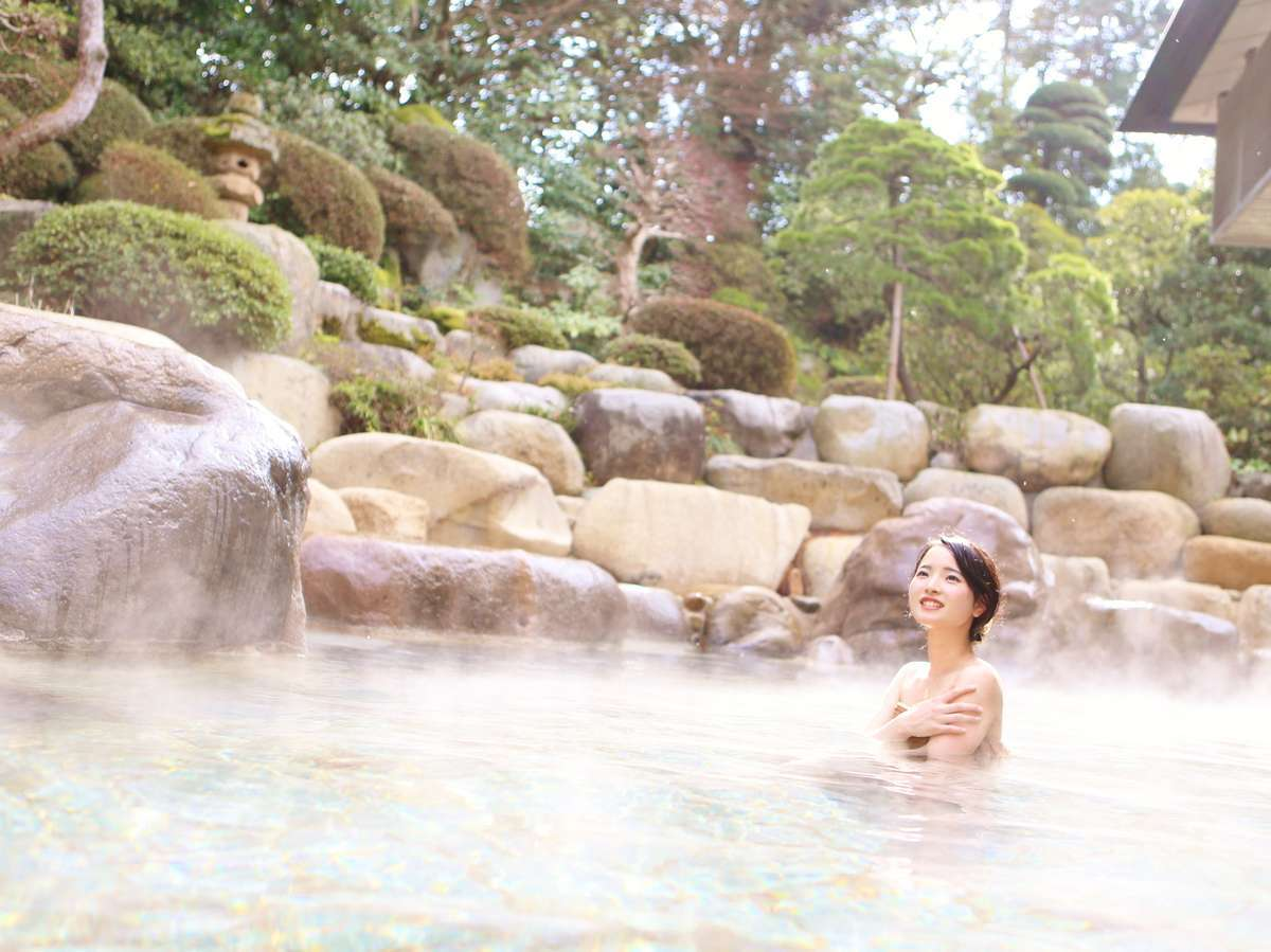 大浴場 神話の湯「露天風呂」