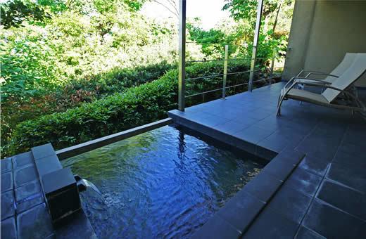 【森の平屋棟】源泉かけ流し露天付き離れ・56平米平屋タイプ