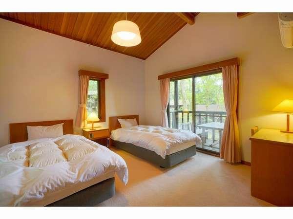 コテージ「スイス村」部屋