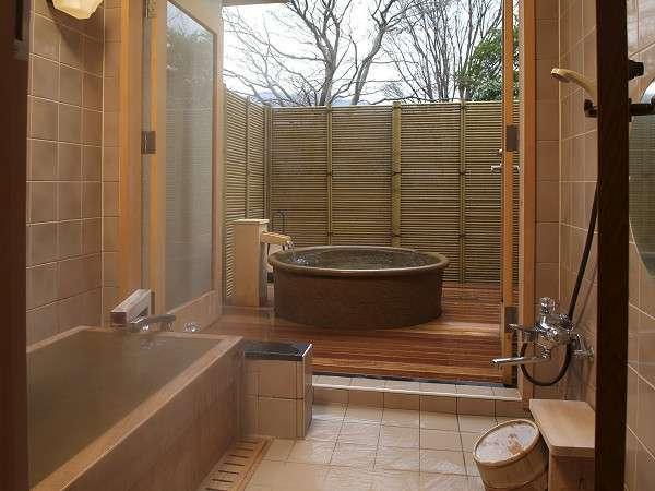 雅:客室露天風呂