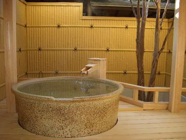 宴:客室露天風呂
