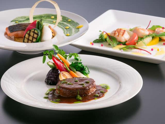 創作料理フルコース一例