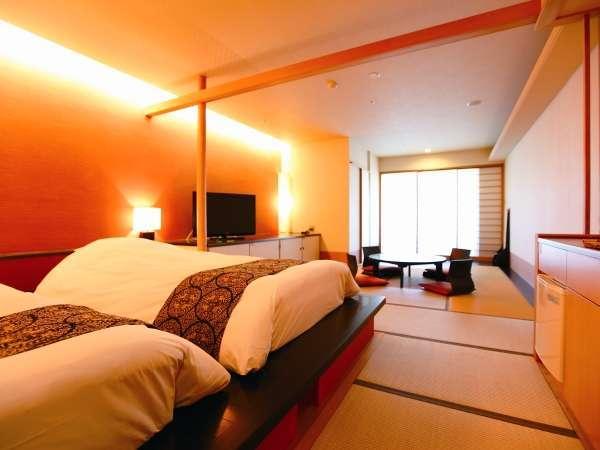 【露天風呂付き和洋室45㎡】和のおもてなしの広々快適な寛ぎの客室
