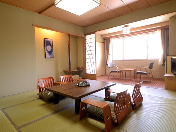 【和室】畳いぐさの日本の香りに、深呼吸でリラックス!