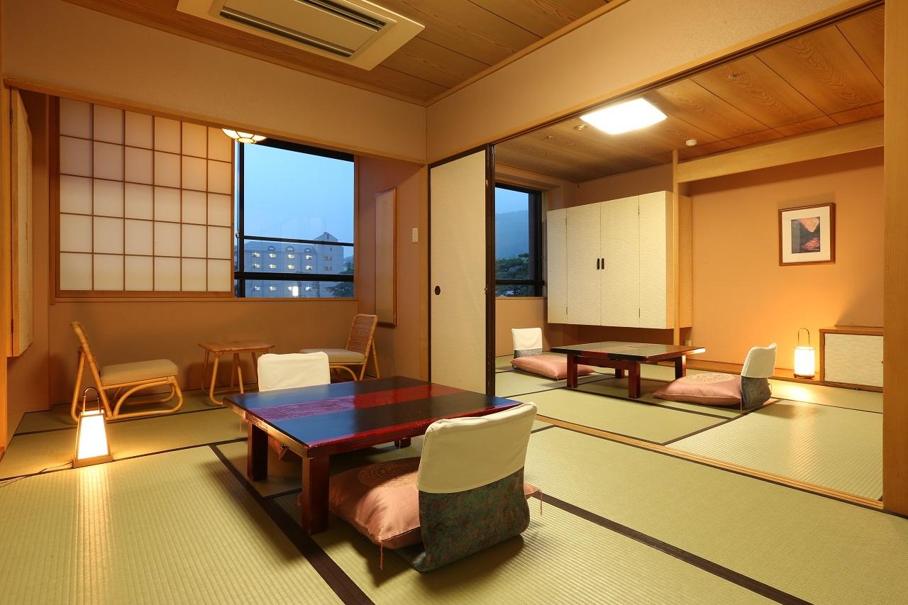 【本客殿・一般客室】やさしい色調の本客殿一般客室。3タイプのお部屋をご用意しております。