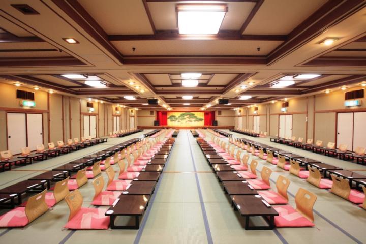 【和式宴会場】大・中・小合わせて35ヶ所の宴会場がございます。