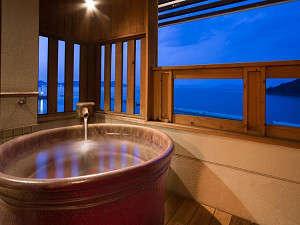 【本館】露天風呂付き客室(檜もしくは陶器)