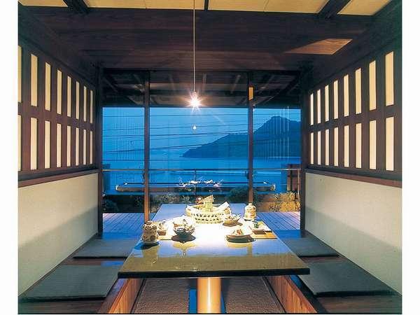 個室食事処(海側一例)