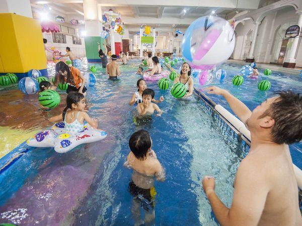 【水の王国 ラグーン】子供から大人まで1日中楽しめる!総面積4000㎡を誇る屋内温水アミューズメント、ラグーン。