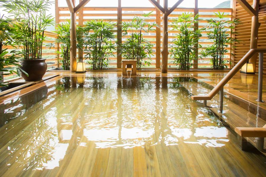 露天温泉檜風呂
