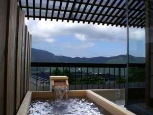 301客室露天風呂