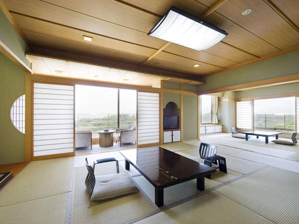 特別室 半露天風呂のついたスイート・ルーム
