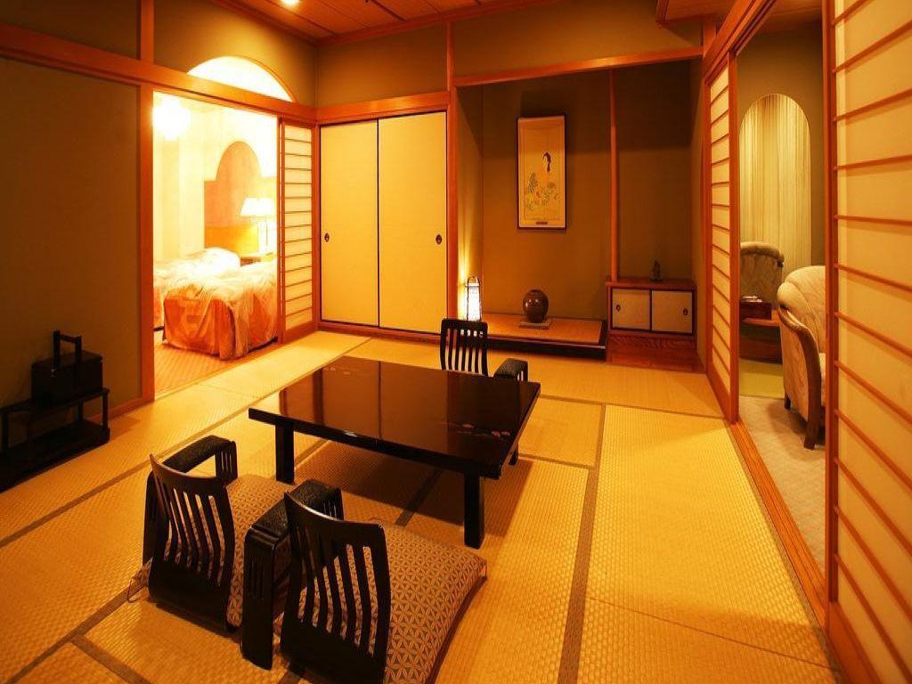 露天風呂付客室「夕日の間」