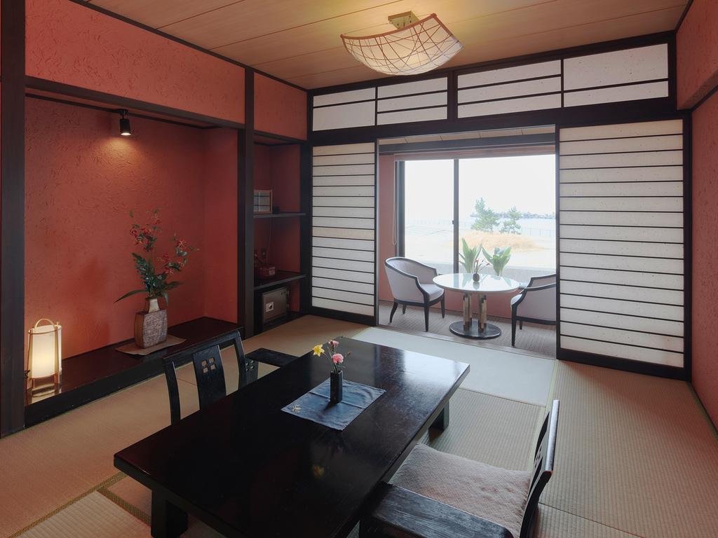 オーシャンビュー和モダン客室の一例