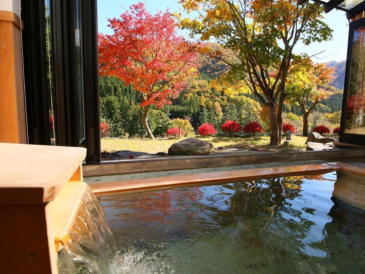 お部屋のお風呂 一例です 『秋の紅葉』