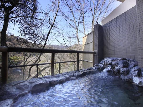 風神の湯・露天風呂