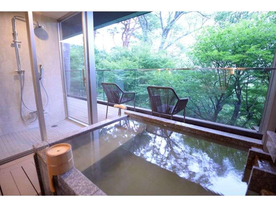 「香」「萬」和室12帖+洋室+庭園デッキ(70平米)禁煙
