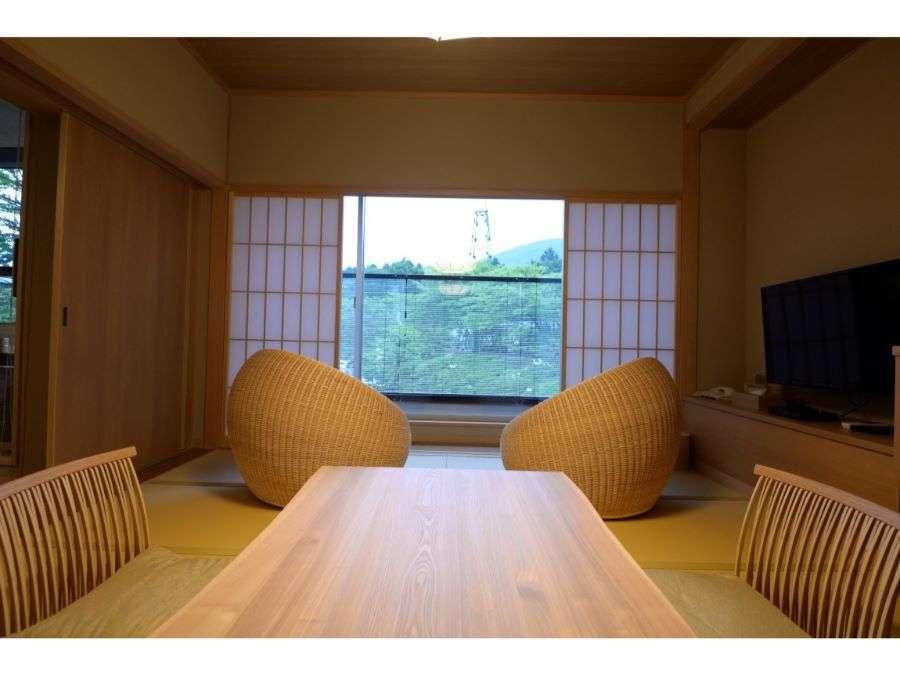 「涌」「然」和室10畳+洋室(60平米)禁煙