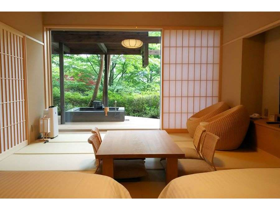 和洋室14帖+庭園デッキ「途」「巌」(60平米)禁煙