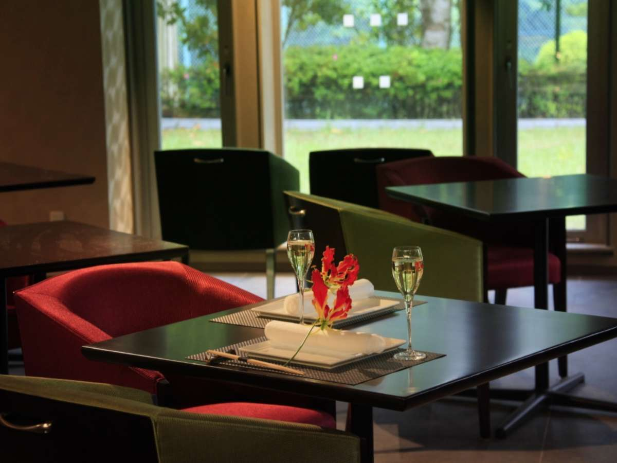 落ちついた雰囲気のレストラン