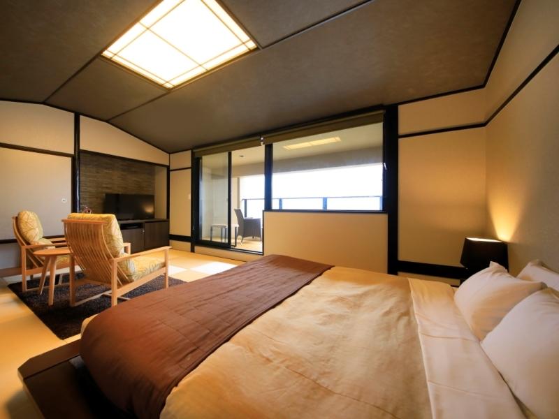 【本館】露天風呂付和室キングベッド