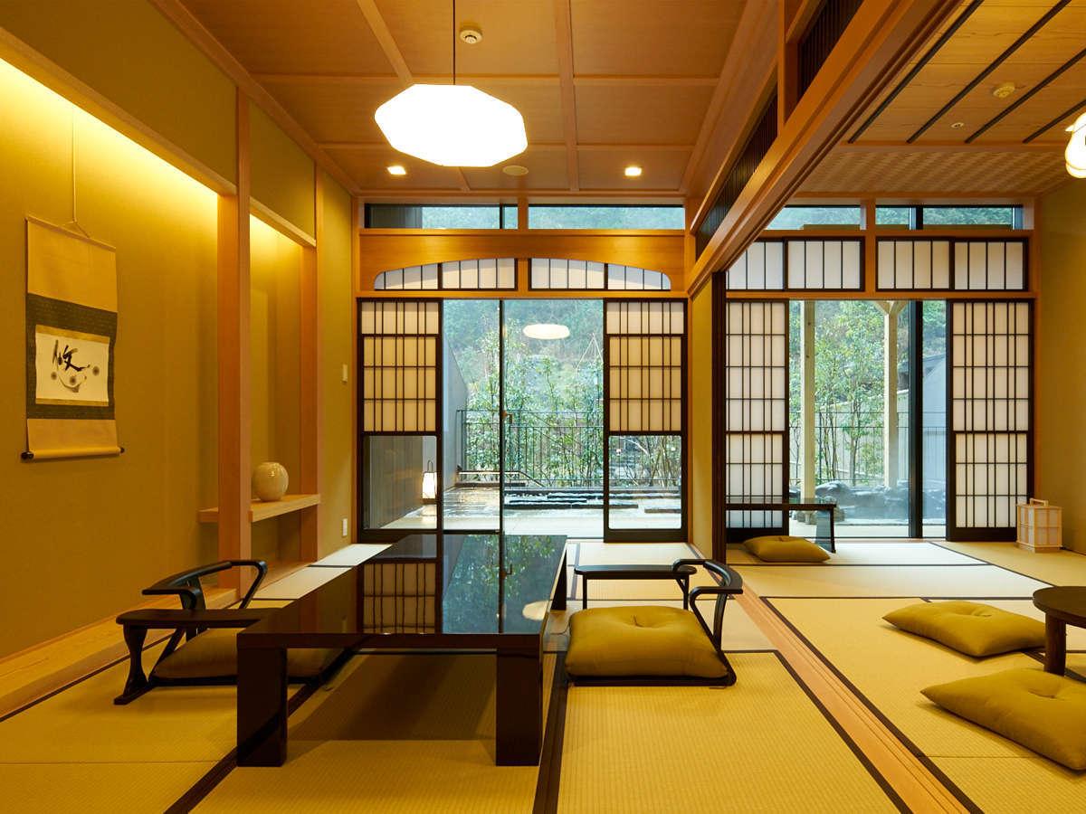 【露天風呂付特別客室「箱根遊山」】「箱根湯本」