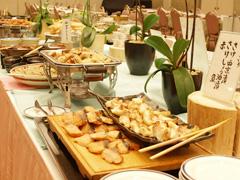 写真:朝食お料理例