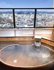 写真:露天風呂付客室イメージ