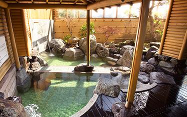 写真:天然温泉