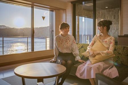 写真:リニューアル客室