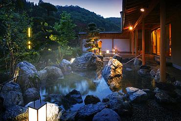 写真:喜久の湯 露天風呂