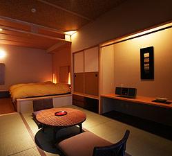 写真:庭園露天風呂付和洋室 お部屋イメージ