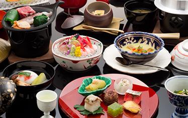 写真:金沢懐石(標準料理)