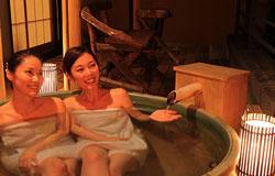 写真:茄子のはなの露天風呂イメージ