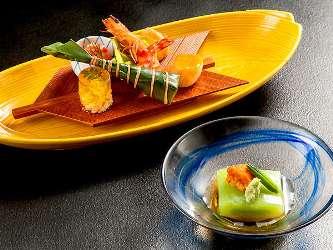 写真:懐石料理