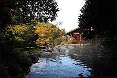 写真:姉妹館 椎葉山荘 しいばの湯 秋