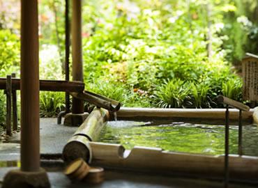 花てらす露天風呂