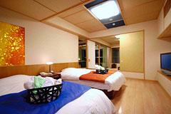写真:海庭 ベッドルーム