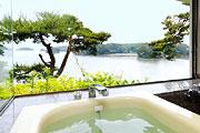 写真:松風 展望風呂