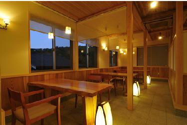 写真:お食事場所
