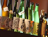 会津の地酒コーナー