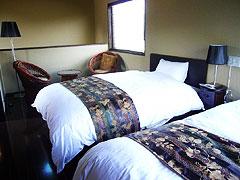 写真:葦の穂 寝室
