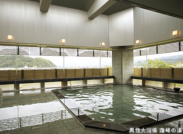 男性大浴場 連峰の湯