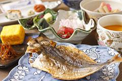 写真:和朝食イメージ