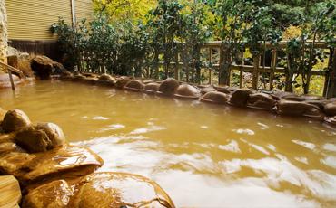銀波の湯 露天風呂