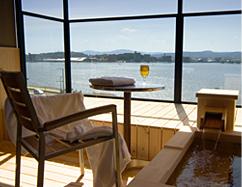 「水と雲の抄」客室露天風呂