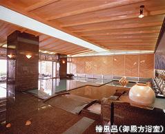 檜風呂(御殿方浴室)